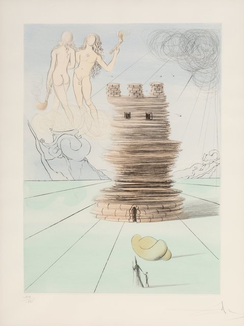 Salvador Dalí, 'Simon, from Twelve Tribes of Israel', 1972, Heritage Auctions