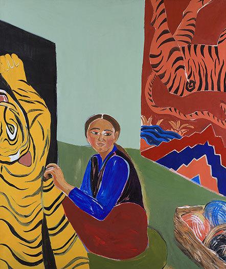 , 'Carpets,' 1996, Susan Eley Fine Art