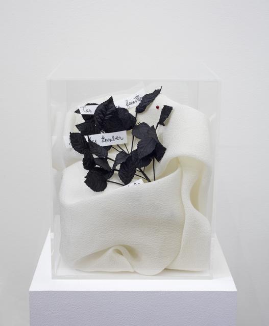 , '«Disparition de Feuilles / Apparition de Fruits » d'après un poème japonais de Kasei,' 2018, Buchmann Galerie Lugano