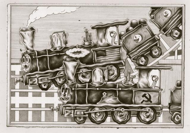 , 'Party Train,' 2018, Richard Heller Gallery