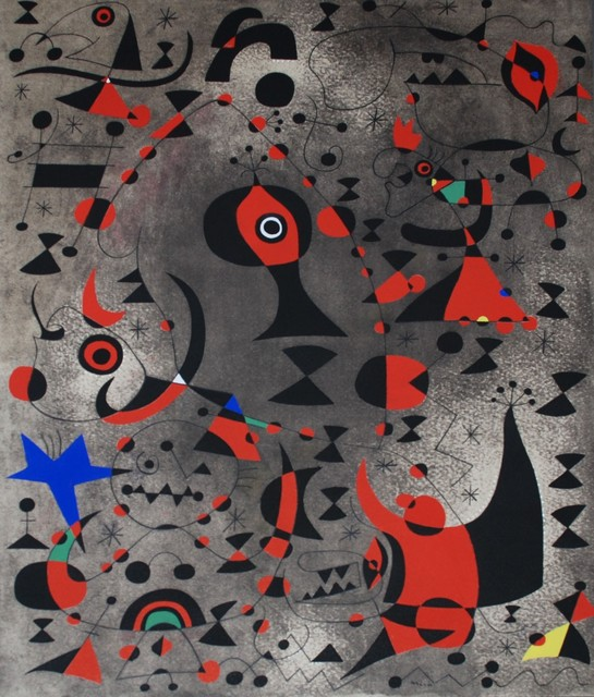 Joan Miró, 'Vers l'arc-en-ciel (Toward the Rainbow), Plate XV', 1959, Georgetown Frame Shoppe