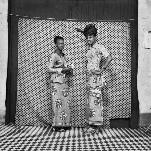 , 'Les Deux Amies au Pagne,' 1972, M+B