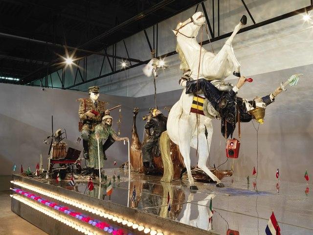 , 'The Ozymandias Parade,' 1985, Gwangju Biennale