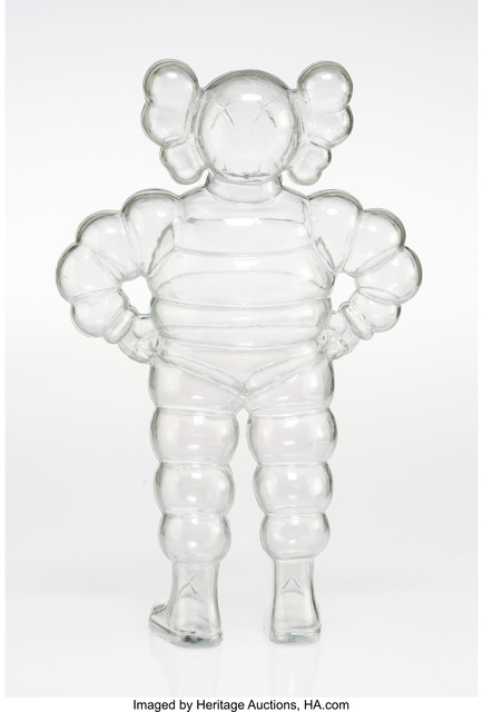 KAWS, 'Chum (Clear)', 2002, Other, Plastic, Heritage Auctions
