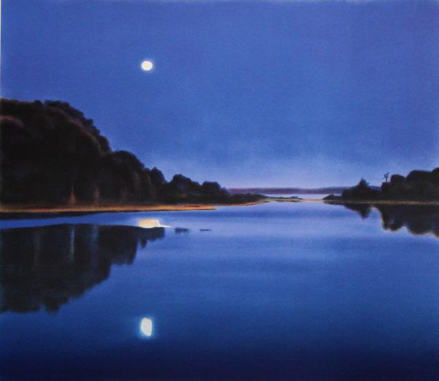 April Gornik, 'Blue Moonlight', 2007, Print, 7-color lithograph, ClampArt