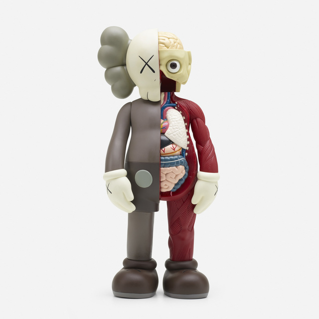 KAWS, 'Companion – Dissected Brown Colorway', 2006, Wright