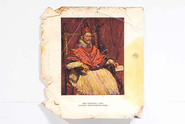 , 'Portrait of Pope Innocent X, After Velásquez and Bacon,' 2014, Proto Gallery