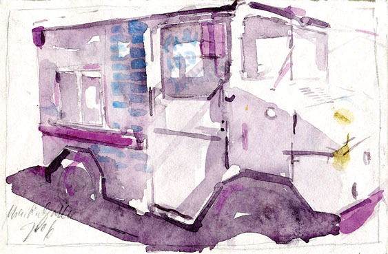 , 'No Title (Milk-Truck I) ,' 2006, Aki Gallery