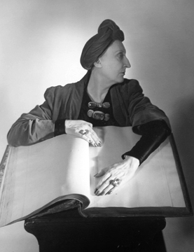 , 'Edith Sitwell, New York,' 1948, Staley-Wise Gallery