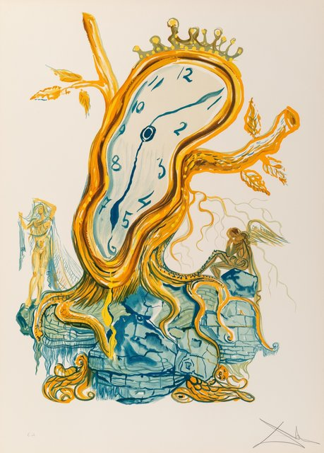Salvador Dalí, 'Stillness of Time, from Time', 1976, Heritage Auctions