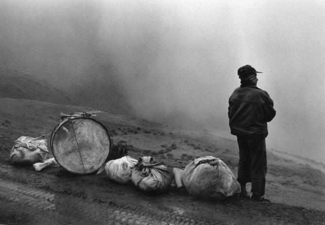 , 'Músico en la Nada, Escoma, Bolivia,' 1990, Peter Fetterman Gallery