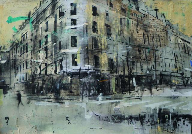 , 'Il poeta francese e la sua nube tuchese ,' 2017, Galleria Punto Sull'Arte