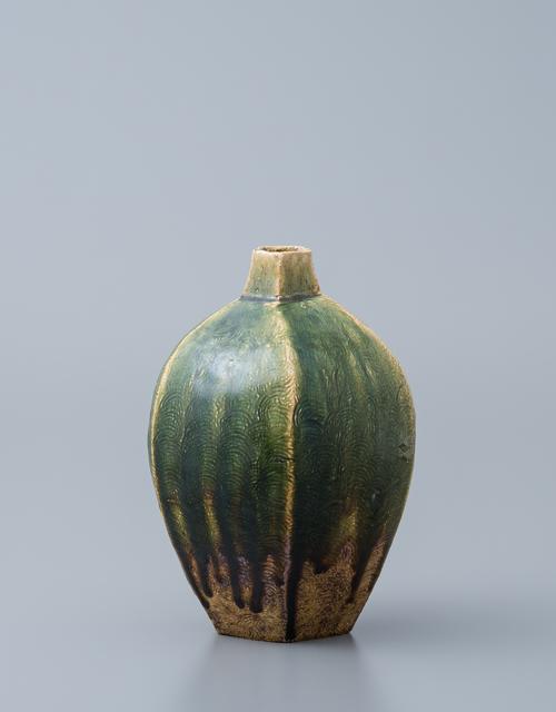 , 'Vase, oribe glaze,' , Pucker Gallery