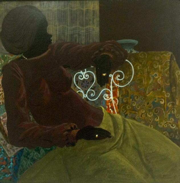 , 'The Wait,' 1977, Myriam Nader Haitian Art Gallery
