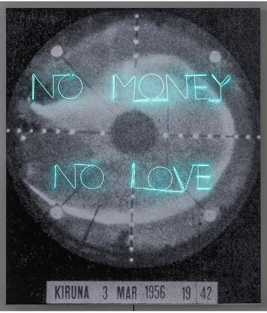 , 'No Money No Love,' 2018, Cecilia Hillström Gallery