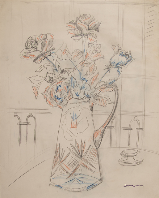 , 'Untitled (Flowers on Table in vase),' ca. 1948, Francis M. Naumann Fine Art