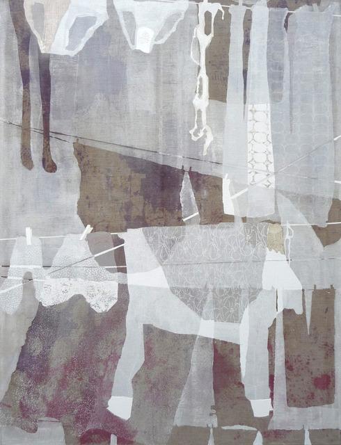 , 'Linen 2,' 2013, Galerie Martin Janda