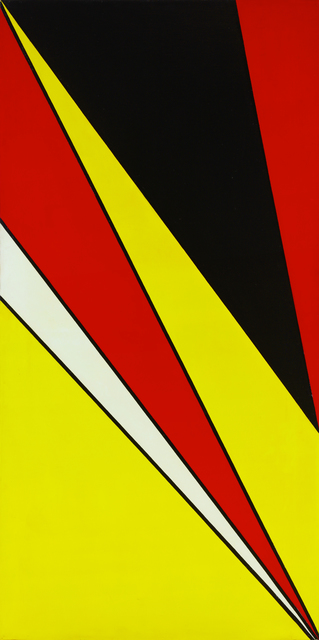 Olle Baertling, 'IOAM', 1956, Painting, Oil on canvas, CFHILL