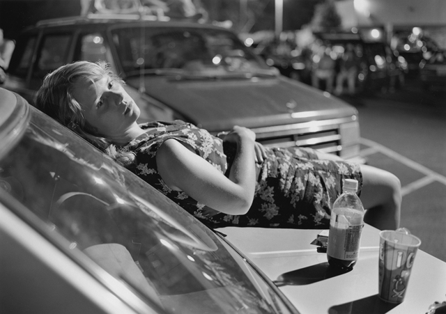 , 'Athens, GA (girl on hood of car),' 1996, Yancey Richardson Gallery