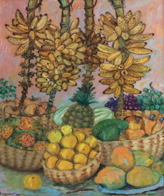 , 'Tropical Harvest,' 2001, Myriam Nader Haitian Art Gallery