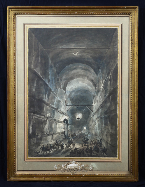, 'La Grotta di Posillipo,' ca. 1791, David Tunick, Inc.