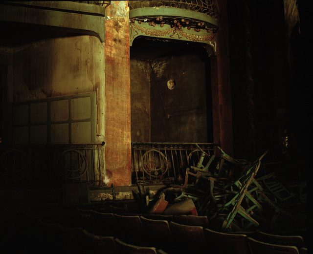 , 'The interior of the Grand Théâtre Cervantès,' 2017, Galerie Clémentine de la Féronnière