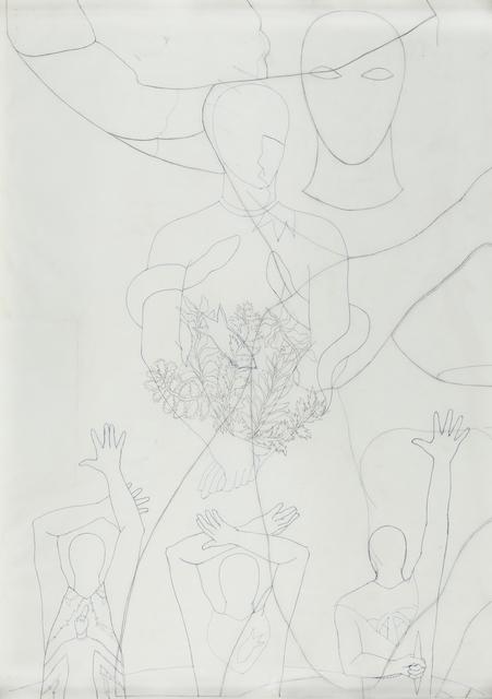 Belkis Ayón, 'Study for Siempre Vuelvo', 1993, Latin Art Core