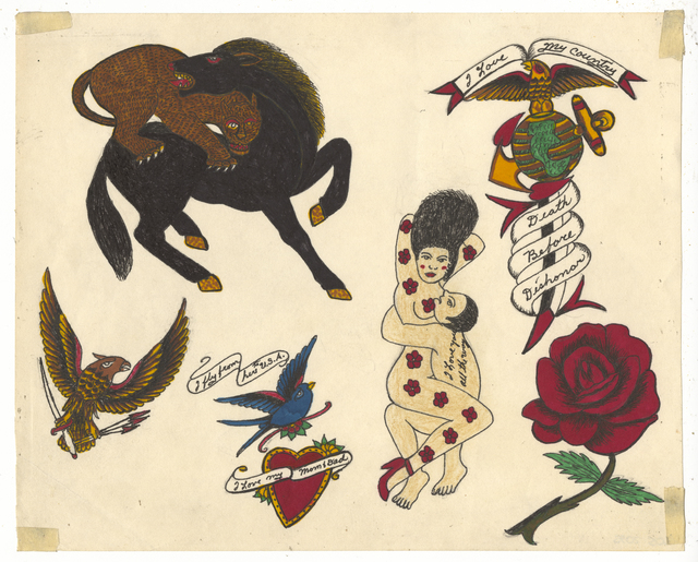 , 'Untitled (Love You All The Way),' ca. 1950, Ricco/Maresca Gallery