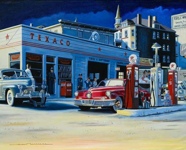 Alain Bertrand, 'First Time they see a Tucker', Catto Gallery