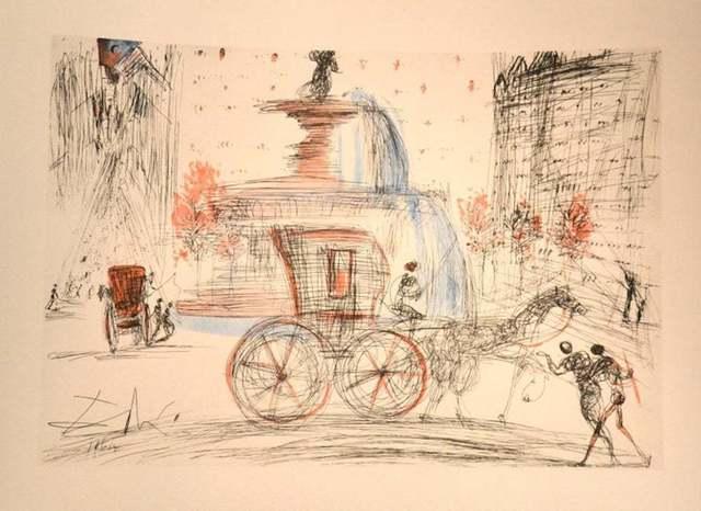 Salvador Dalí, 'New York City: Plaza', 1981 (1964), Wallector