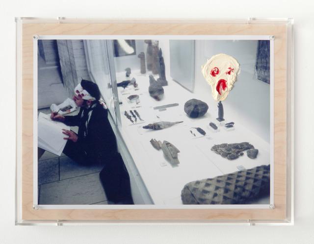 , 'Cri sur la photo 1991,' 2014, Galerie Nathalie Obadia