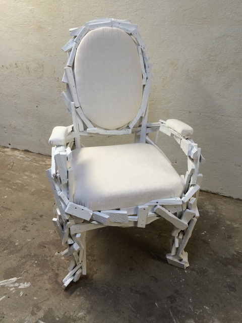 , 'Chair from Trash Series,' 2015, Judy Straten