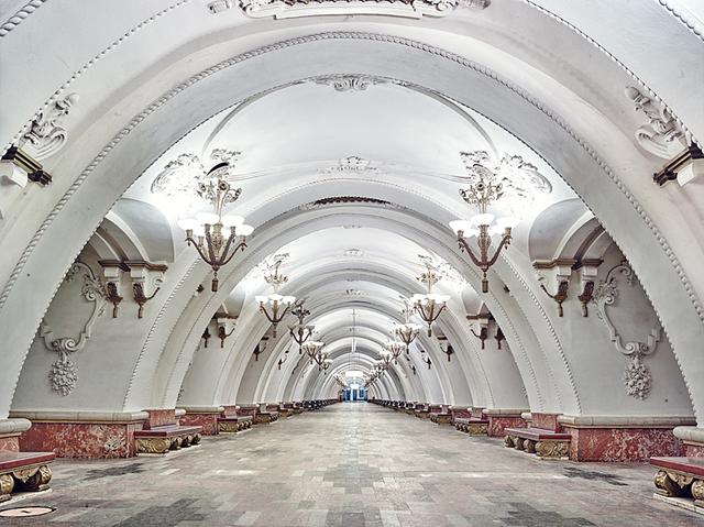 David Burdeny, 'Arbatskaya Metro Station, Moscow, Russia,', 2015, Gilman Contemporary