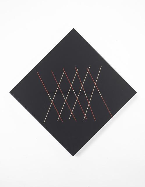 Rafael Martinez, 'Lignes dans l'espace', 1969, Painting, Relief painted metal and wood, Il Ponte