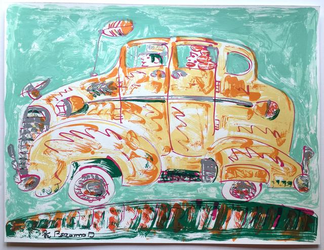 , 'Gold Chevy,' 2008, Warnock Fine Arts