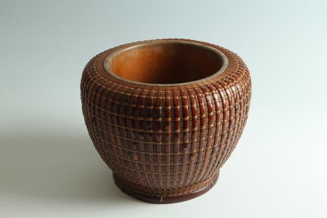 , 'Bamboo Hibachi (T-3914),' Showa era (1926, 1989) 1930s, 40s, Erik Thomsen