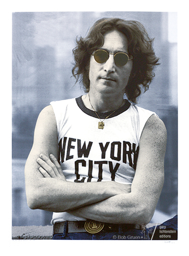 , 'John Lennon-NYC-1974,' 1974, Gary Lichtenstein Editions & Perry J. Cohen Foundation
