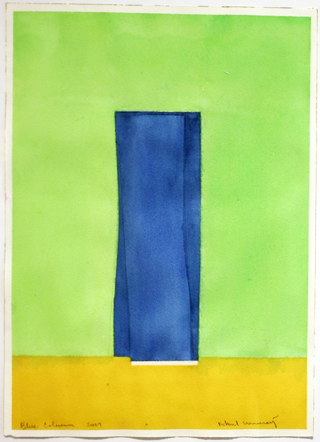 , 'Blue Column (No. 5),' 2017, Studio 21 Fine Art