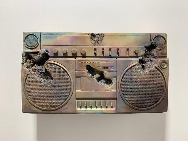 , 'Bronze Boombox,' 2019, Galerie Ron Mandos