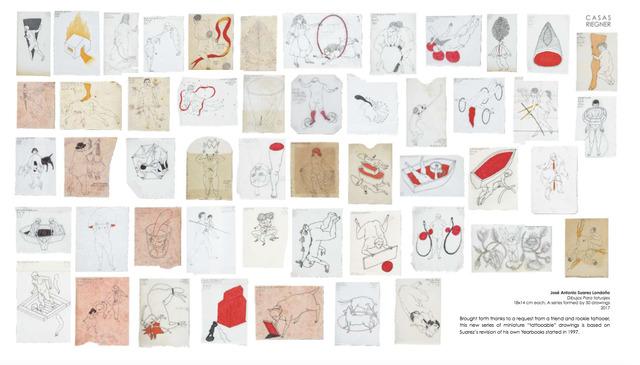 , 'Dibujos Para tatuajes,' 2017, Casas Riegner