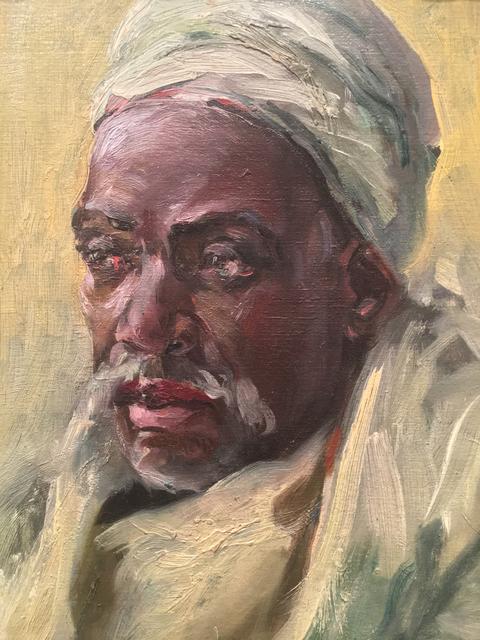 , 'A Bedouin,' ca. 1921, Boca Raton Museum of Art