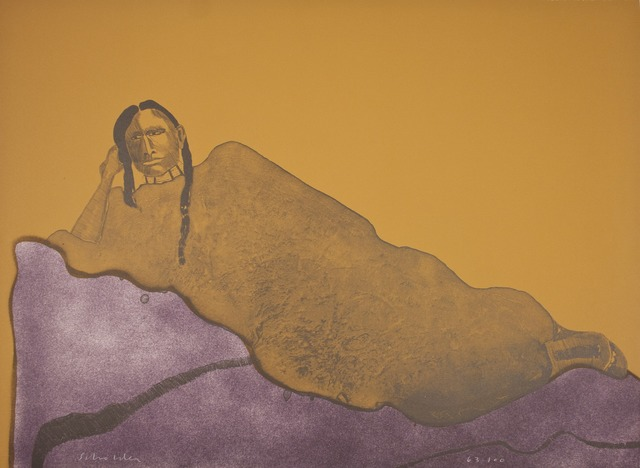 , 'Reclining Indian Woman,' 1975, Tamarind Institute