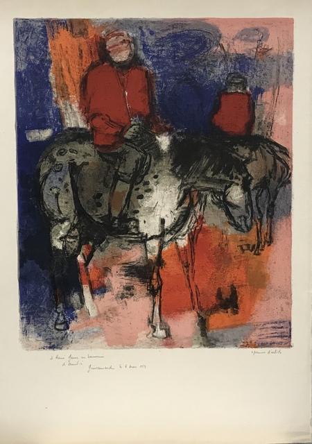 Paul Guiramand, 'Horsemen', ca. 1959, Artioli Findlay