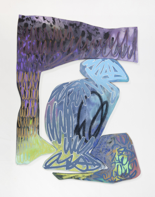 , 'Bookend 3,' 2018, Denny Gallery