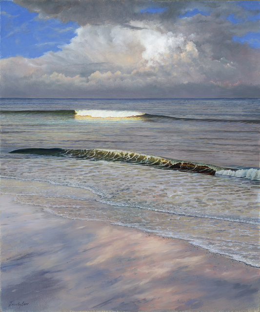 , 'Golden Surf,' 2018, Somerville Manning Gallery