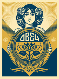 Obey Holiday Print
