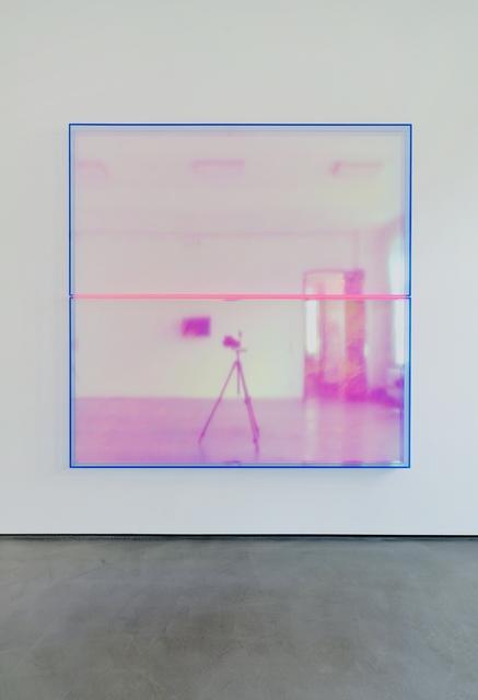 , 'color rainbow blue pink bonn,' 2019, Galerie Judith Andreae