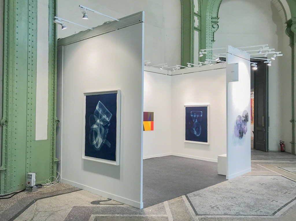 STPI's booth at FIAC