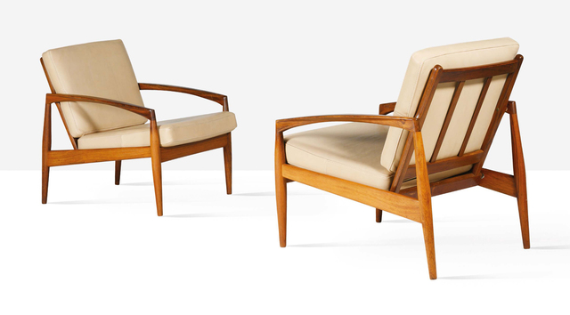 Kai Kristiansen, 'Pair of lounge chairs', circa 1965, Aguttes