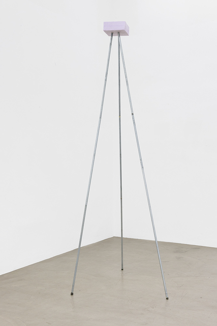 , 'Silver Triangle,' 2015, Galerie Meyer Kainer